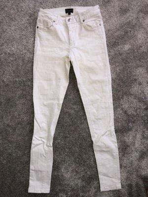 Weiße Jeans von Warehouse, Gr.34