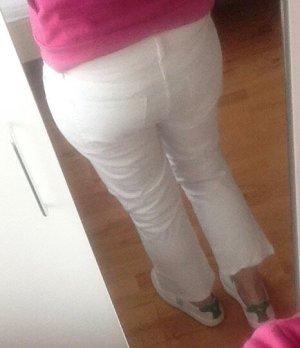 Gap Jeans 7/8 blanc coton
