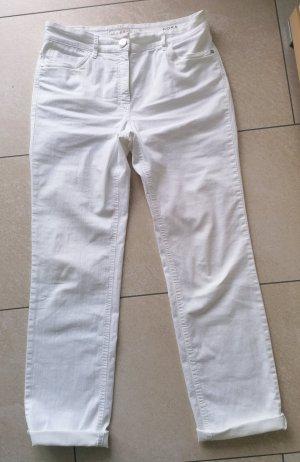 Zerres Jeans stretch blanc