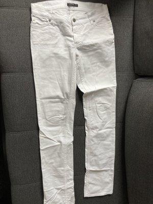 Weiße Jeanshose