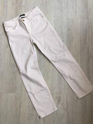 esprit collection Pantalone cinque tasche bianco