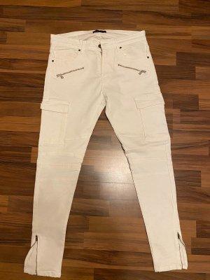 Zara Skinny jeans wit