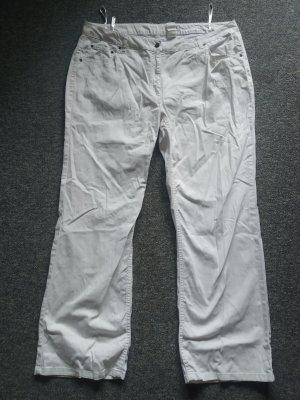 Weiße Jeanshose von Lebek Collection in Größe 52