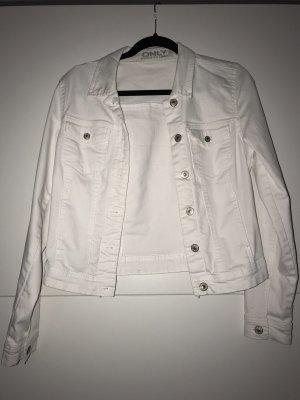 Weiße Jeansjacke neu
