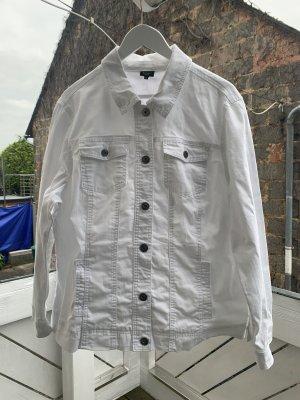 Adler Denim Jacket white-silver-colored