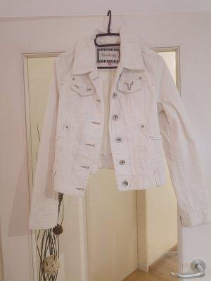 Weiße Jeansjacke von Broadway