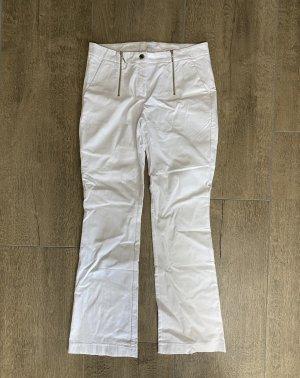 Weiße Jeggings von Alba Moda