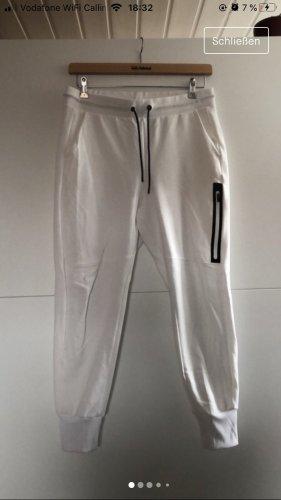 H&M Pantalon de jogging blanc-noir
