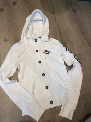 Hollister Chaqueta con capucha blanco