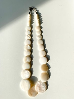 Shell Necklace white-natural white