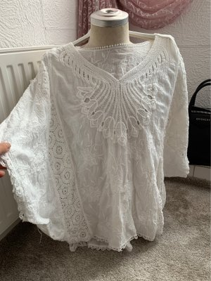 weisse kleider bluze tshirt top one size