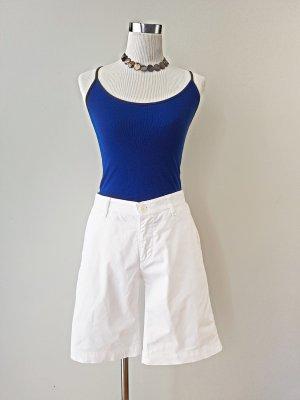 Weiße Lagerfeld Vintage Bermuda / Shorts Gr. XS, Vintage, 90er