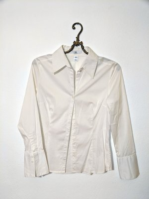 Weiße Langarmbluse H&M