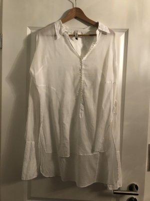 Weiße, lange Tunika von Hunkydory in M - selten getragen