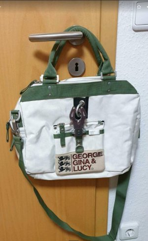 #weiße Laptop-Tasche #Laptop-Tasche #George Gina & Lucy