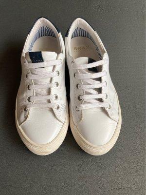 Weiße Leder sneakers von brax