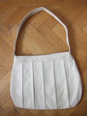 Weiße Lederhandtasche von NIKITA