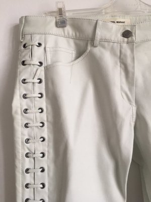 Isabel Marant pour H&M Leather Trousers white leather