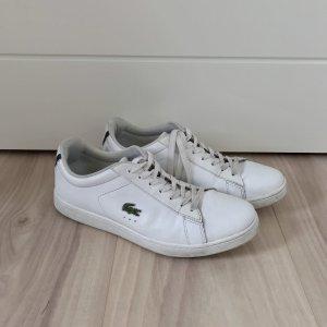 Weiße Ledersneakers