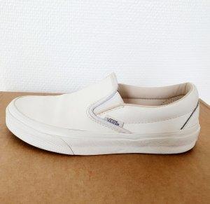 Vans Sneaker slip-on bianco Pelle