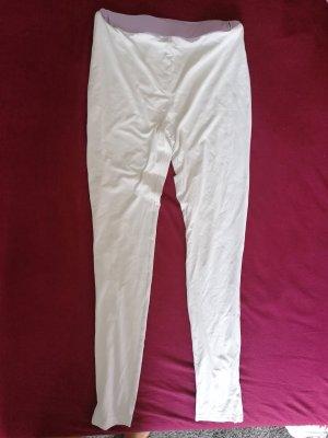 Weiße leggings