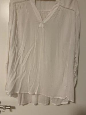 Weiße leichte Bluse