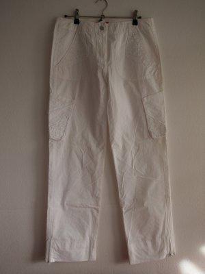 Apriori Trousers white cotton