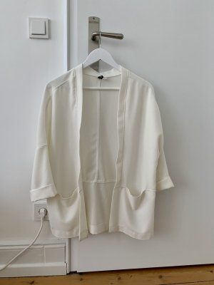 Weiße leichte Jacke