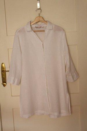 Adagio Tunic Blouse white linen