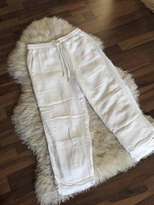 Pantalón de lino blanco