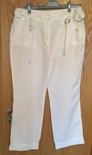 Canda Linen Pants white linen