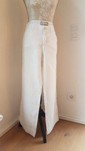 Esprit Pantalone di lino bianco