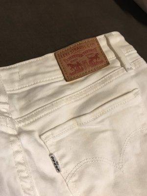 Weiße Levi's Jeans
