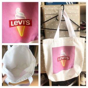 Weiße Levi's Tasche mit Eis sehr guter Zustand