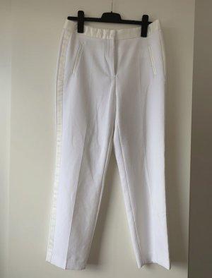 Weiße lockere Hose