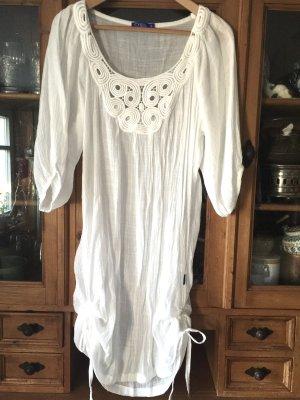 Weiße Longbluse von cyell