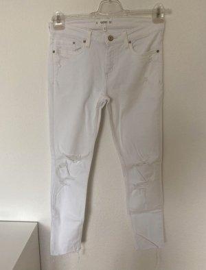 Weiße Mango Jeans