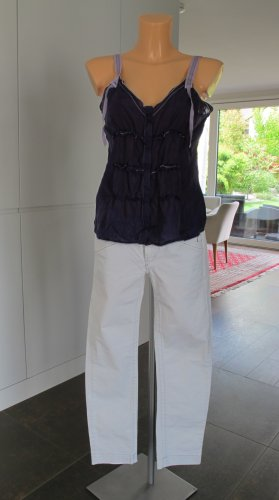 "Weiße ""Marithé et François Girbaud"" Straight-Cut Jeans W28 Gr. 36  NP ca. 300,-€  !!"