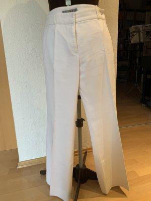 Turnover Pantalón anchos blanco