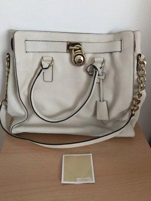 Weiße Michael Kors Tasche