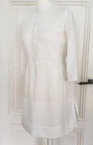 Weisse neue Longbluse / Tunika von Mango Casual Sportswear