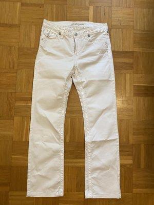 bluefire Jeans met rechte pijpen wit
