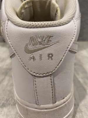 Weiße Nike Air