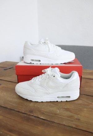 Weiße Nike Air Max One 1 Größe 38 Sneaker