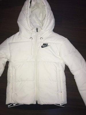Weiße Nike Jacke