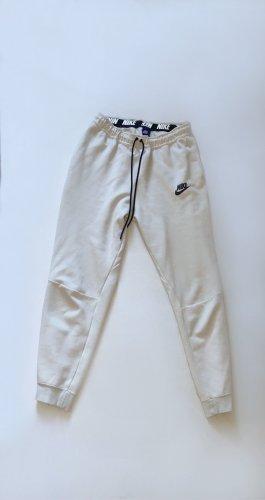 Weiße Nike Jogginghose