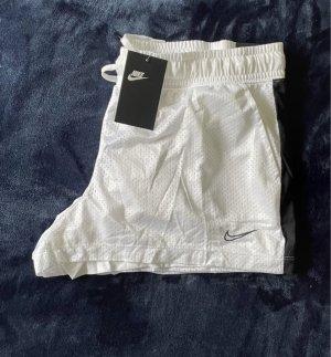 Weiße Nike Shorts Sport neu Gr. L