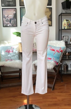 Only Drainpipe Trousers white
