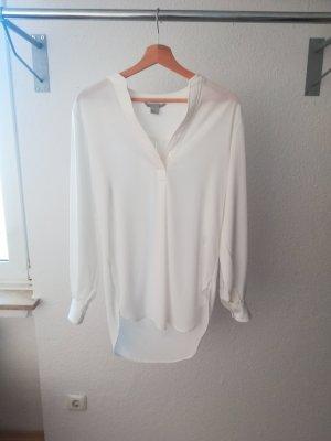 Weiße oversize Bluse
