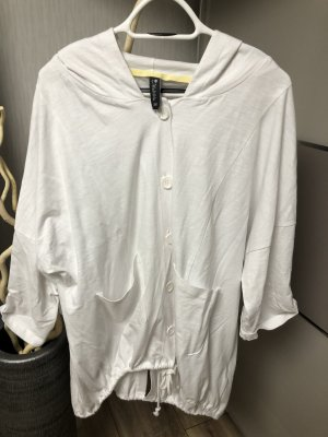 Weiße Oversize Jacke